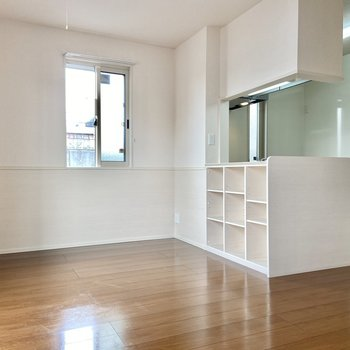 【LDK】キッチンが充実した1LDKのお部屋。