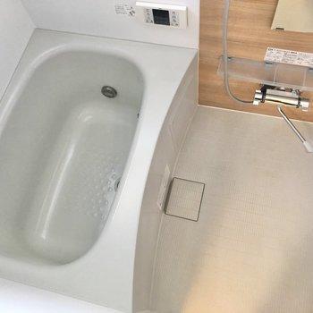 追焚機能も付いているので、いつでも温かいお風呂に入れます。