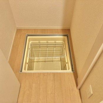 床下収納もありますよ。