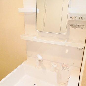 広くて使いやすそうな洗面台※写真は前回募集時のもの