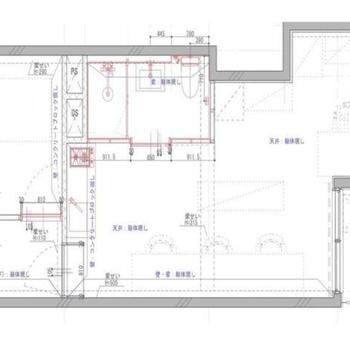40平米に未たない空間に2部屋
