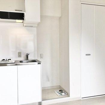 冷蔵庫の大きさはチェックしておきましょう!