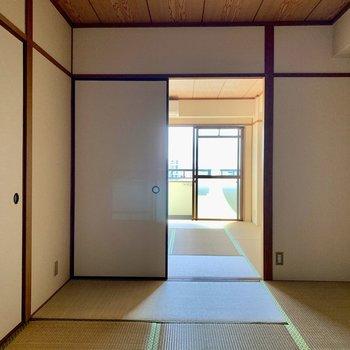 和室⓶】和室⓵と繋げるとLDKと同じくらいの広さに!(*写真は別部屋のものになります)