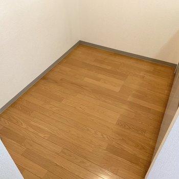 【LDK】広めのキッチンスペース。大きめな家電も入りそう。