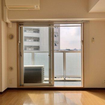 今回見てゆくのは、4階のお部屋です。※写真は5階の同間取り別部屋のものです