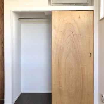 【Room】アイアンバーとクローゼットがありました。