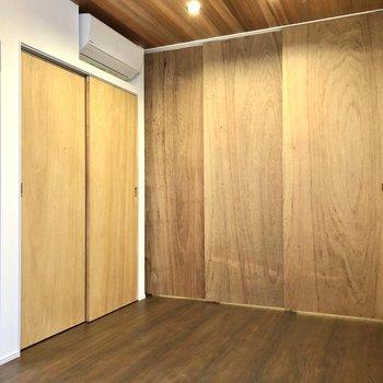 【LD】仕切りはスライドドアで。