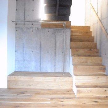 ここが一番下の階※写真は同階の同間取り別部屋のものです