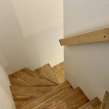 1階に降りましょう。