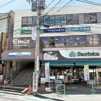 最寄りは西武新宿線〈武蔵関〉駅。