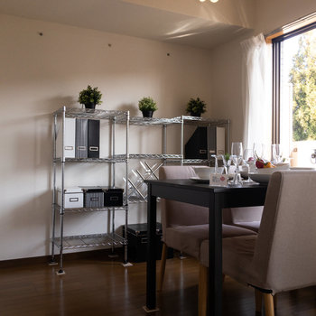 【LDK】ダイニングテーブルや、※写真は1階の反転間取り別部屋のものです