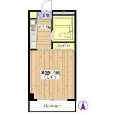 モンシャトー高円寺 の間取り