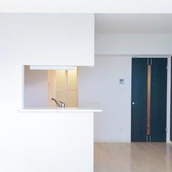 【LD】キッチンは対面式で使いやすい!