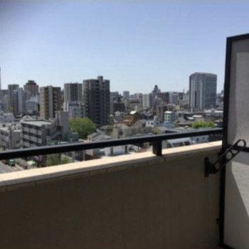 9階からの景色、さすがです!