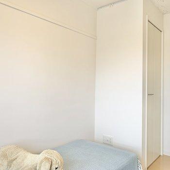 【洋室4.48帖】書斎や趣味部屋としても使えそう。※写真は4階の同間取りモデルルームのものです
