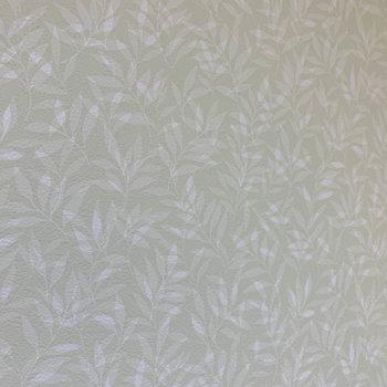 脱衣所の壁は草はら。