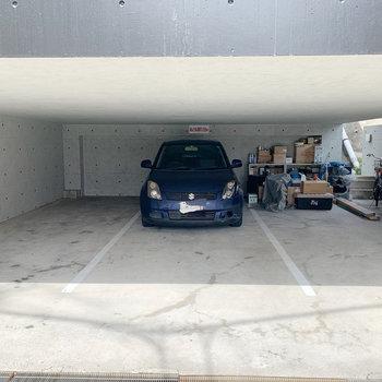駐車場は高さ制限があるので注意です。