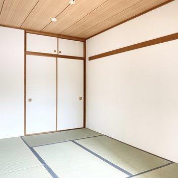 【和室】清潔感のある和室です。