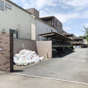敷地内にゴミ置き場があります。