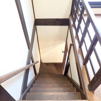 さて2階へ。