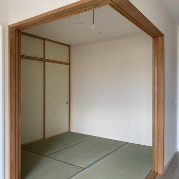 和室は4.5帖です。暑い夏はここでごろ〜っと。