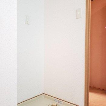 水回りと廊下の間に段差があるので気をつけて!(※写真は4階の同間取り別部屋のものです)