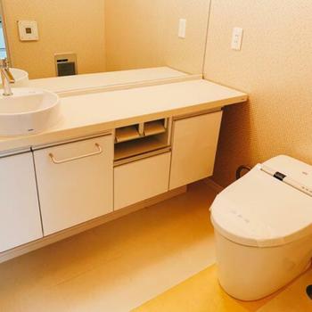 清潔感のあるトイレ!このままキレイに保ちたい