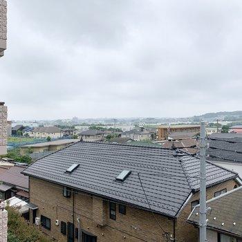 眺望は周辺の住宅街です。