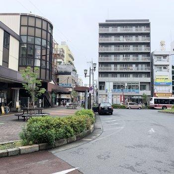 昭島駅です。