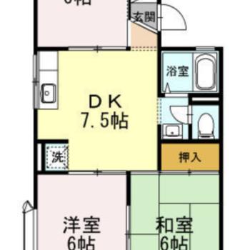 ゆったり3DKのお部屋です。