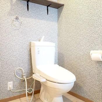 トイレはその目の前です。