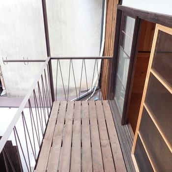 2階にはベランダが2つあります。