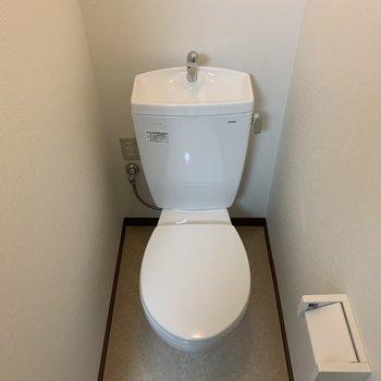 トイレはちょうどいい広さ