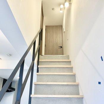 ごはんを食べ終わったら軽やかに上階へと行けそうです。※写真は前回募集時のものです