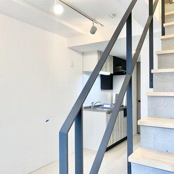 階段越しにおしゃべりしたりしたい。※写真は前回募集時のものです