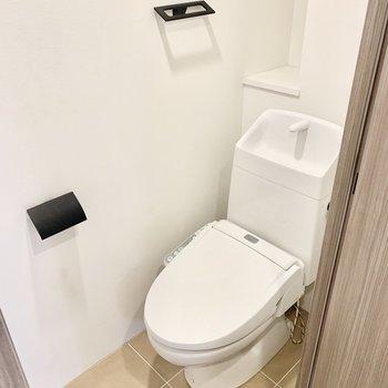 トイレも抜かりなくデザインされています。※写真は前回募集時のものです