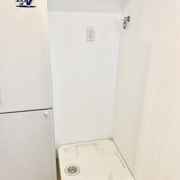 洗濯機は使いやすい場所に。※写真は前回募集時のものです