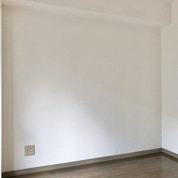 【洋室】テレビ線も通っています。