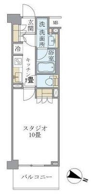 アパートメンツ中野弥生町 の間取り