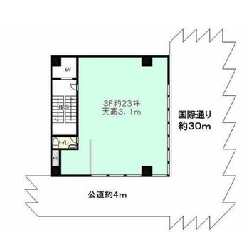 7階建ての3階部分です。