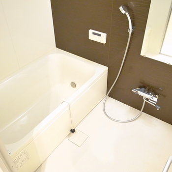 いくらでも半身浴できそうな雰囲気〜。