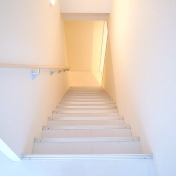それでは下へ降りていきます。