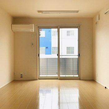 1階ですが外からは見にくくなっているので安心してくつろげそうですね。