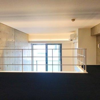 【ロフト】早速、ロフトをみていきましょうか。※写真は3階の同間取り別部屋のものです