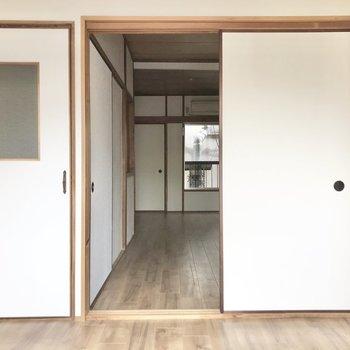 階段と洋室①、 どちらからもアクセス可能!