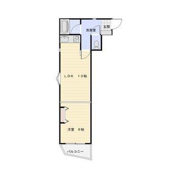 リノベされたお部屋 LDK10×洋6 ※6帖の洋室にクローゼットはありません