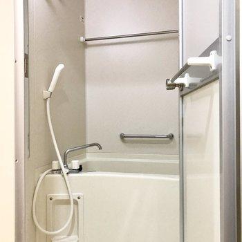浴室乾燥機付きで雨の日も安心です
