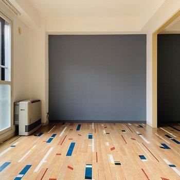 この床材が特徴的!