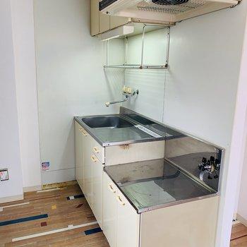 キッチンはこちら。