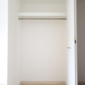 ボックスを使って整理したいですね。(※写真は11階の同間取り別部屋のものです)